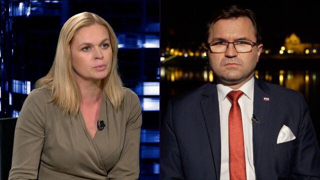 """""""Tylu manipulacji, półprawd, jakie wyrzucił z siebie premier Morawiecki, nie słyszałam już dawno"""""""