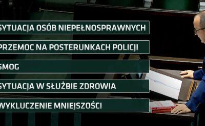 Rzecznik Praw Obywatelskich złożył w Sejmie doroczne sprawozdanie o swojej działalności