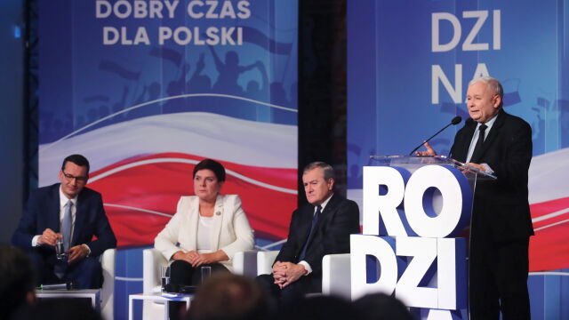 Kaczyński: trwa atak na polską rodzinę