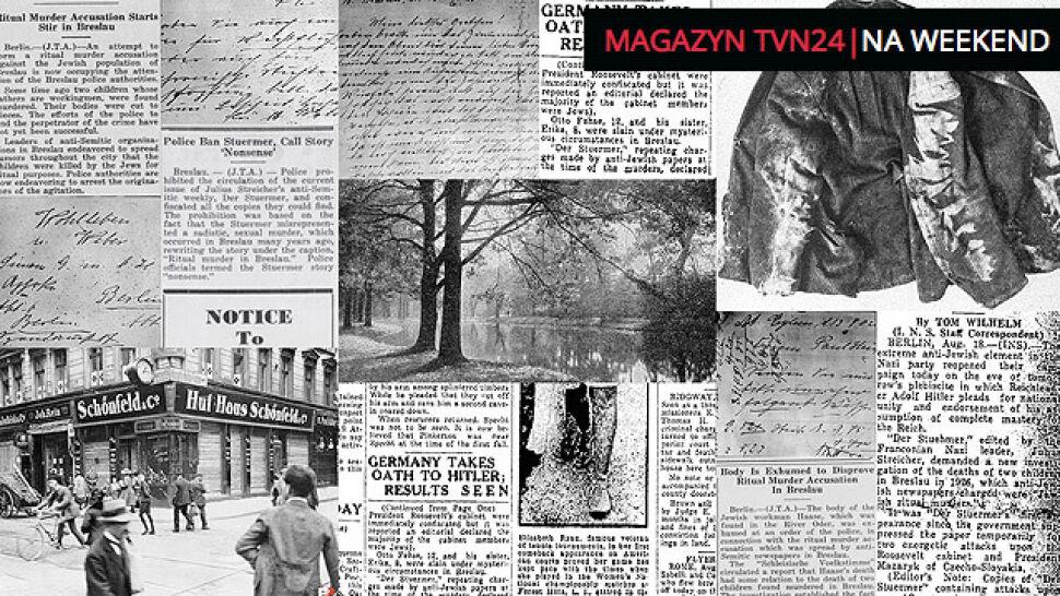 Brutalne morderstwo dzieci, bezradna policja i naziści oskarżający Żydów