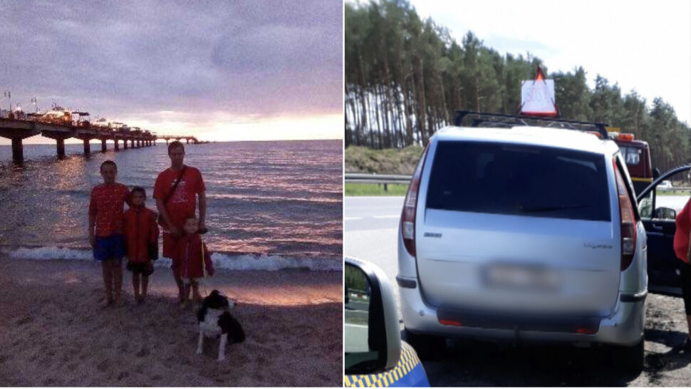 """Zepsuł im się samochód. Powiesili kartkę """"SOS"""" i trzy dni przy drodze czekali na pomoc"""