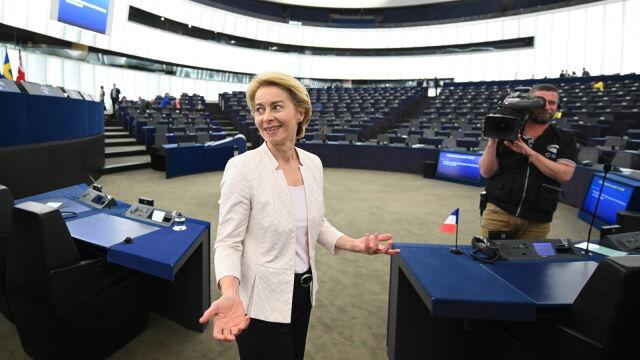 Parlament Europejski zdecydował  w sprawie kandydatury Ursuli von der Leyen