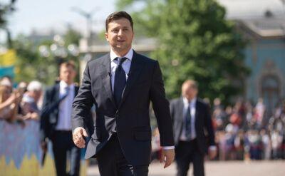Zełenski wyprasza ze spotkania sekretarza rady miejskiej Boryspola