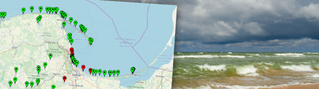 Sinice w Bałtyku. Czerwone flagi na kąpieliskach