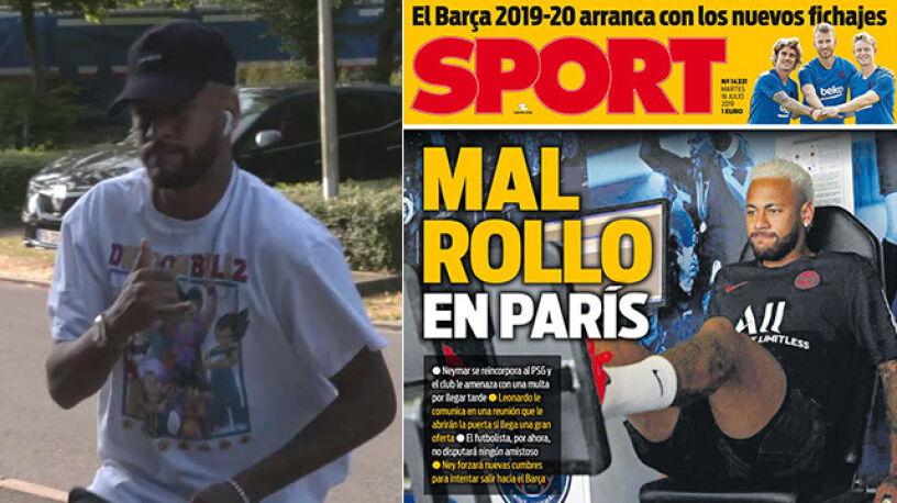 Neymar wrócił do treningów z PSG. W Paryżu zrobiło się niezręcznie