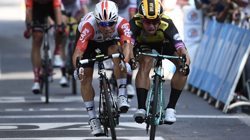 Ewan doczekał się zwycięstwa w Tour de France. Zadecydowały milimetry