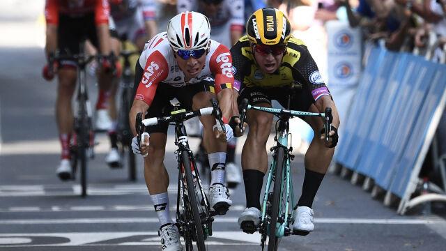 Ewan doczekał się zwycięstwa w Tour de France. Na 11. etapie zadecydowały milimetry