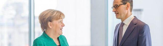 Merkel dzwoniła z przeprosinami  do Morawieckiego? Rzecznik rządu odpowiada