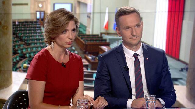 "Joanna Mucha i Waldemar Buda w ""Faktach po Faktach"""