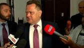 Zieliński o działaniach policji na spotkaniach polityków PiS z wyborcami: sprawy są badane