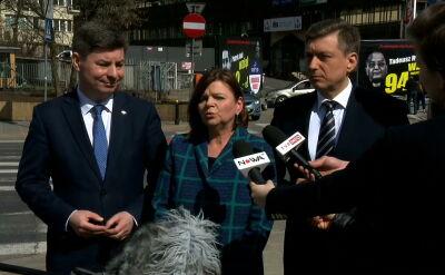 Posłanka Leszczyna o nagrodach dla ministrów rządu PiS