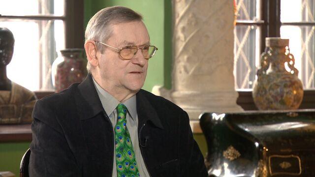 """Profesor Norman Davies był gościem """"Faktów po Faktach"""""""