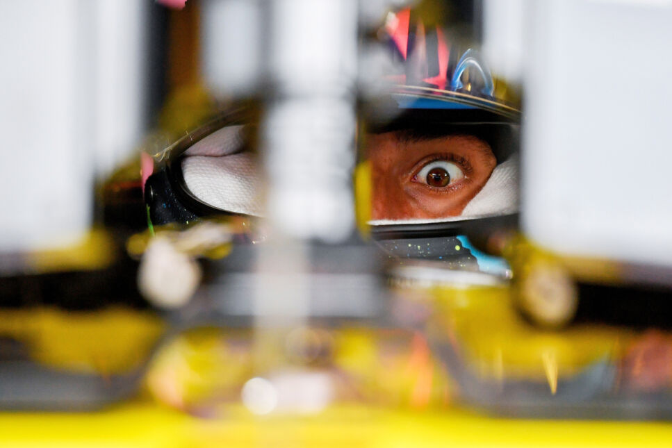 Australijski kierowca Daniel Ricciardo podczas treningu przed Grand Prix Węgier Formuły 1