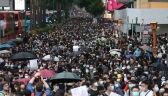 Dziewiąty weekend protestów w Hongkongu