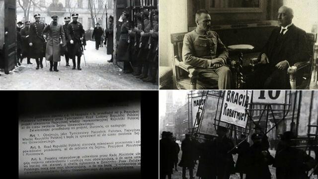 """Od demokracji do dyktatury. """"Powstało wrażenie, że Piłsudski to drugi Mussolini"""""""