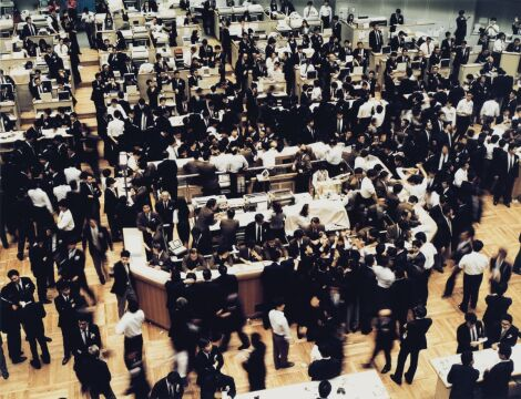 "Andreas Gursky ""Tokyo Stock Exchange"""