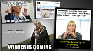 """""""Winter is coming"""". Internet drwi z minister"""