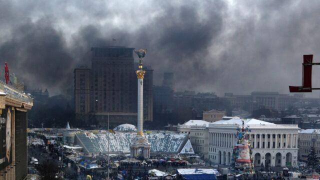 Łukasik: na Euromajdanie jest spokojnie