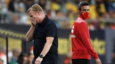 Koeman narozrabiał. Jest kara dla trenera Barcelony