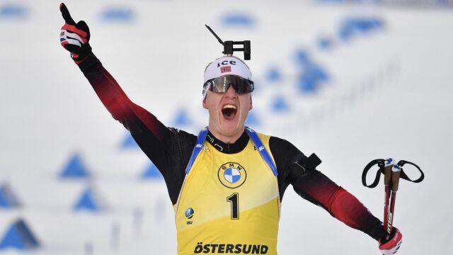 """""""Stójka"""" przesądziła o Kryształowej Kuli. Boe po raz trzeci królem biathlonu"""