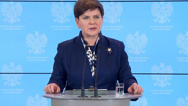 Premier Szydło: nie ma nadzoru, jest dialog z KE
