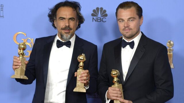 """Złoty Glob dla Leonardo DiCaprio. """"Zjawa"""" najlepszym filmem"""