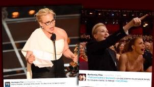 Oscar i manifest, który ożywił publiczność. Meryl Streep wstała z fotela