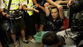W Hongkongu trwają protesty. Chińskie wojsko przy granicy