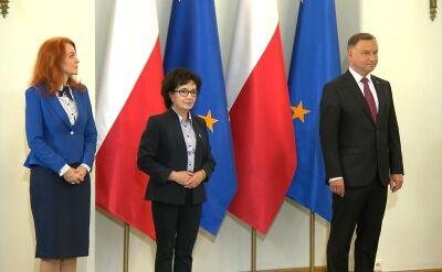 Całe przemówienie Andrzeja Dudy podczas powołania Mariusza Kamińskiego na nowego szefa MSWiA