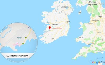 Do awarii samolotu doszło na lotnisku Shannon w Irlandii