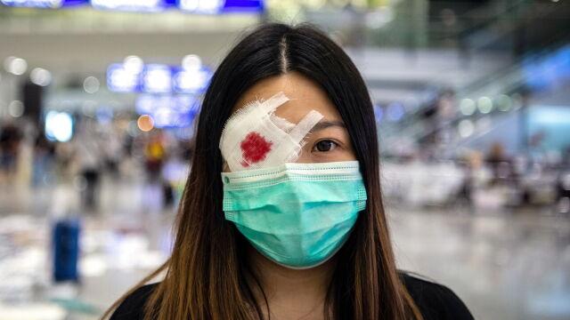 Szefowa rządu Hongkongu: chcecie, żeby został rozbity na kawałki?