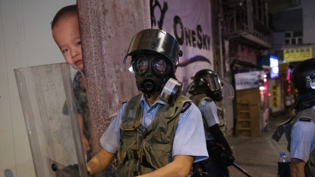 "Donald Trump oczekuje od Chin ""humanitarnego"" potraktowania Hongkongu"