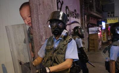 Protesty antyrządowe w Hongkongu