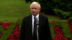 """Kaczyński kibicuje Tuskowi. """"Liczę na to, że dojdzie do tego wyboru"""""""