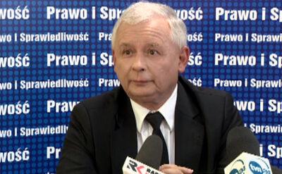 Kaczyński: Premierem był złym, ale życzę mu jak najlepiej