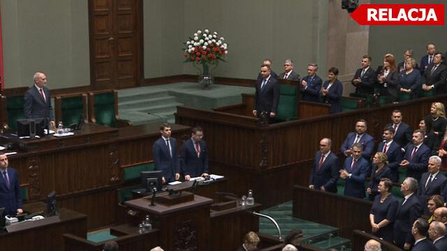 Marszałek senior otworzył obrady Sejmu