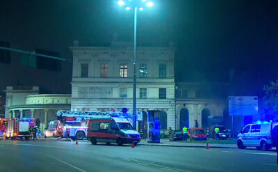 Fire at the Świebodzki Station in Wrocław leaves nine injured