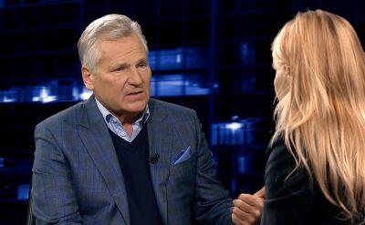 Kwaśniewski: Macierewicz brzmiał zupełnie inaczej niż prezydent