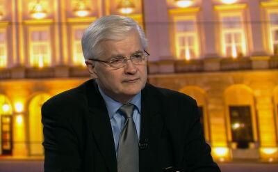 Cimoszewicz: gdyby Tusk podjął ryzyko i przeprowadził dobrą kampanię, wygrałby wybory