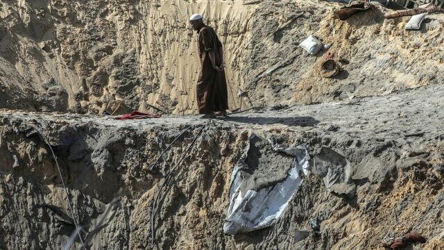 Izrael zaatakował obiekty Hamasu w Strefie Gazy