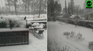 Atak zimy w Oslo.