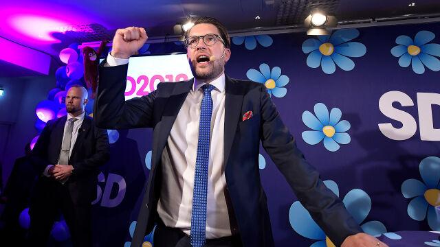 Szwedzcy nacjonaliści po raz pierwszy  w historii najpopularniejszą partią