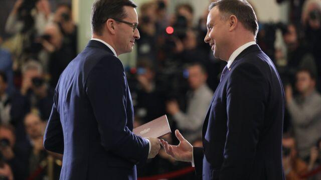 Mateusz Morawiecki powołany na premiera. I ministra sportu