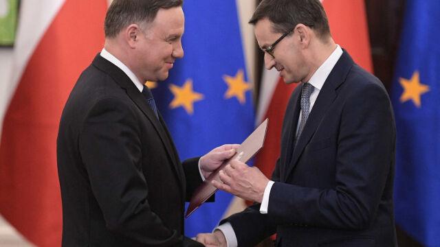 Prezydent desygnował Morawieckiego na premiera. Powierzył mu misję utworzenia rządu
