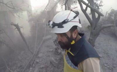 Białe Hełmy ocaliły życie tysięcy syryjskich cywilów
