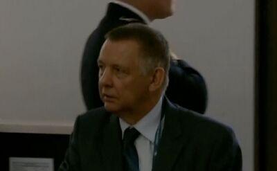Prezes Najwyższej Izby Kontroli Marian Banaś w Sejmie
