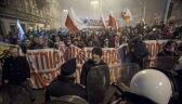 Marsz narodowców we Wrocławiu został rozwiązany. Doszło do strać z policją
