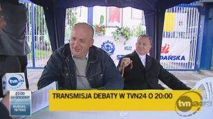 Twarde krzesła czekały na premiera