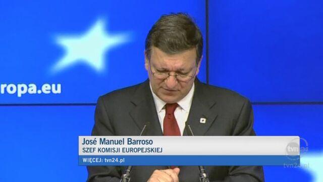 Jose Manuel Barroso o sytuacji w Grecji