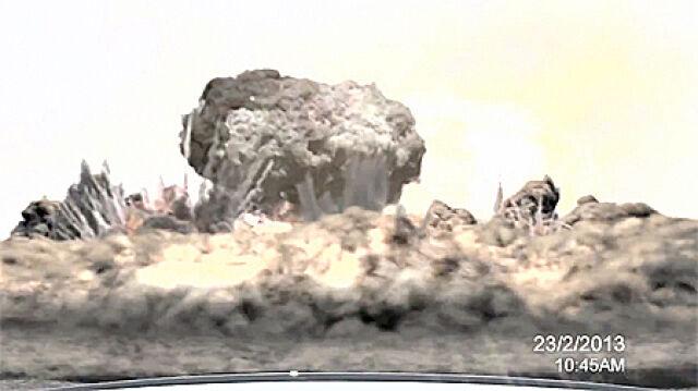 Atomowy grzyb i uderzeniowa fala. Wizja apokalipsy Izraela